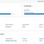 Microsoft Health Dashboard