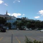 Vue de la Haute Ville depuis le port