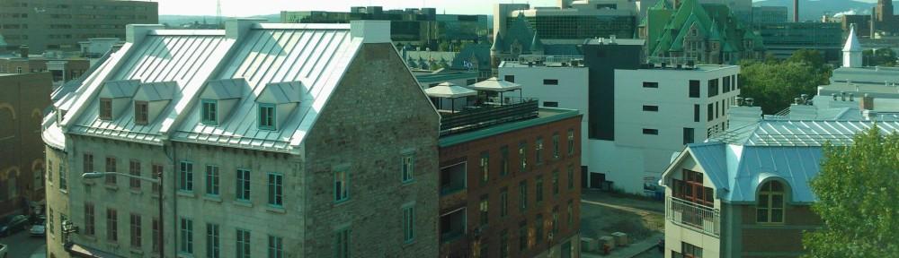 Basse-Ville de Québec vu des remparts