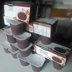 Heureusement, il y a les puddings au chocolat ! Miam, miam !