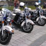 Motos de la Police