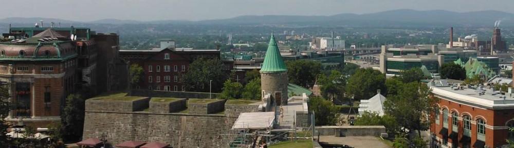 Vue de Québec depuis les remparts