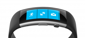 Microsoft Band 2 - Vue de dessus